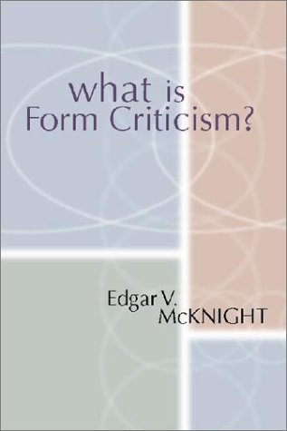 9781579100551: What is Form Criticism?