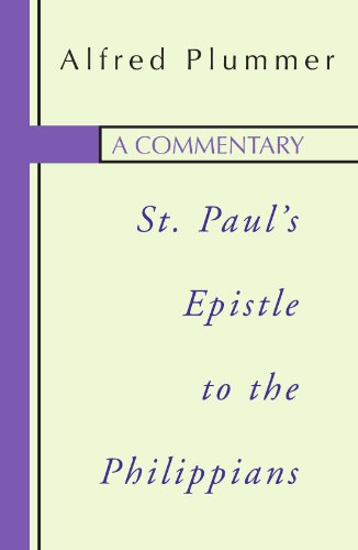 9781579100582: A Commentary on St. Paul¹s Epistle to The Philippians