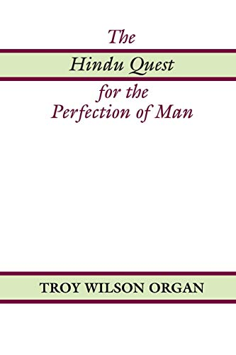 9781579101411: The Hindu Quest for the Perfection of Man