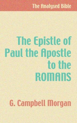 9781579106423: The Epistle of Paul the Apostle to the Romans: