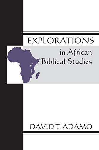 9781579106829: Explorations in African Biblical Studies: