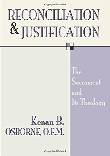 9781579108199: Reconciliation and Justification: The Sacrament and Its Theology