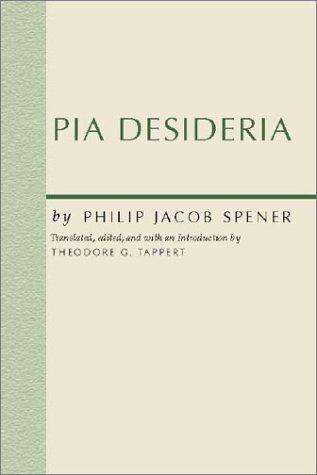 9781579108861: Pia Desideria