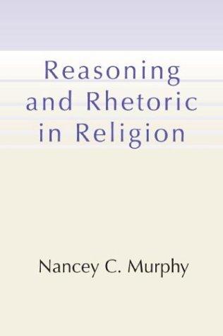 9781579109486: Reasoning and Rhetoric in Religion
