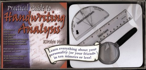 9781579120726: Practical Guide to Handwriting Analysis: Book and Kit