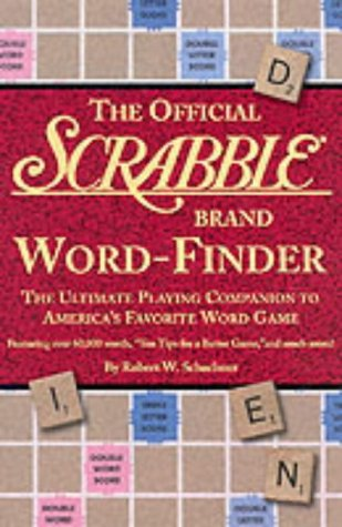 9781579121044: The Official Scrabble Brand Word-Finder: The Ultimate Playing Companion to America's Favorite Word Game