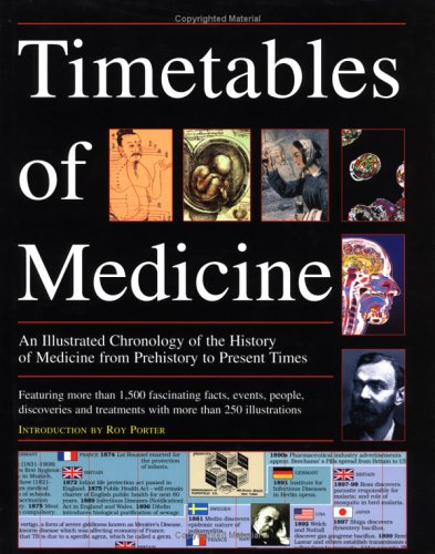 The Timetables of Medicine : An Illustrated: John Cule