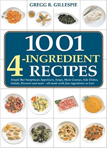 9781579122072: 1001 Four-Ingredient Recipes