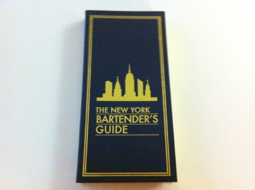 9781579122485: New York Bartender's Guide