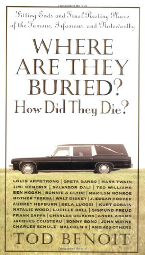 9781579122874: Where Are They Buried?: How Did They Die? Fitting Ends and Final Resting Places of the Famous, Infamous, and Noteworthy