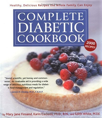 9781579123406: Complete Diabetic Cookbook: Healthy, Delicious Recipes the Whole Family Can Enjoy