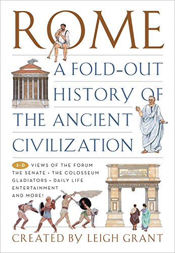 9781579124717: Rome: A Fold-Out History of the Ancient Civilization