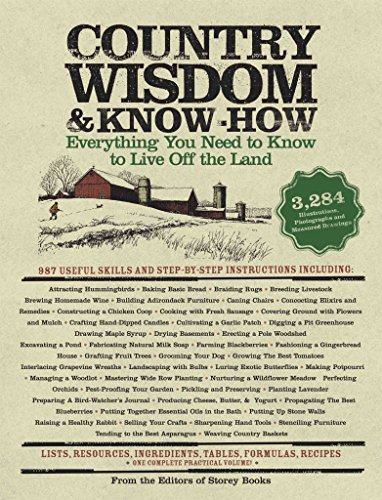 9781579124977: Country Wisdom & Know-How by Editors of Storey Books (2004-01-01)