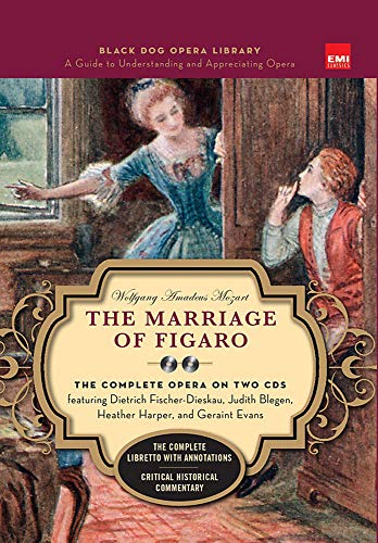 The Marriage Of Figaro (Book And CDs): Wolfgang Amadeus Mozart,