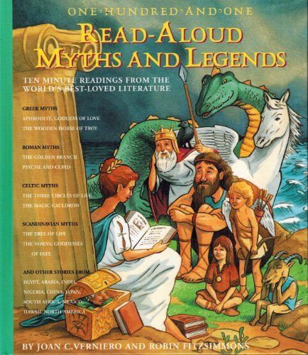 9781579125318: One-Hundred-And-One Read-Aloud Myths and Legends