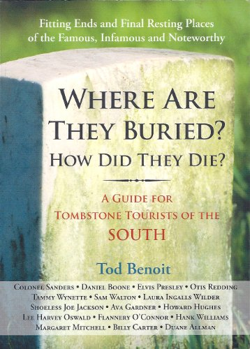 9781579125813: Where Are They Buried? (How Did They Die?)