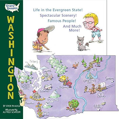 9781579127756: State Shapes: Washington