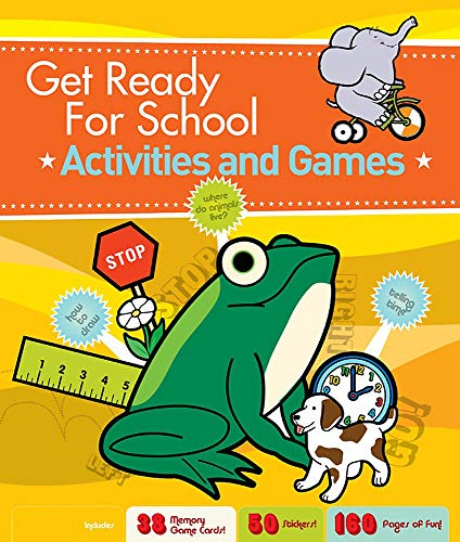 9781579127961: Get Ready for School: Activities and Games