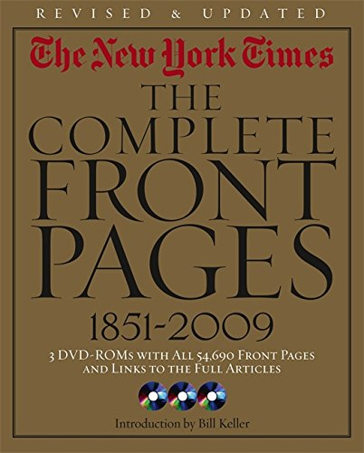 The New York Times : The Complete Front Pages, 1851-2009