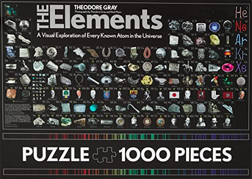 The Elements Jigsaw Puzzle: 1000 Pieces: Theodore Gray