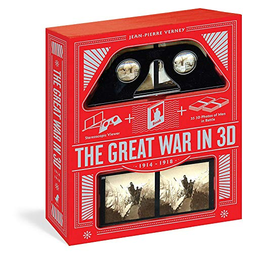 9781579129538: Great War in 3D: A Book Plus a Stereoscopic Viewer, Plus 35 3D Photos of Men In Battle, 1914-1918