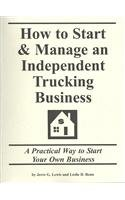 9781579162092: How to Start & Manage an Independent Trucking Business