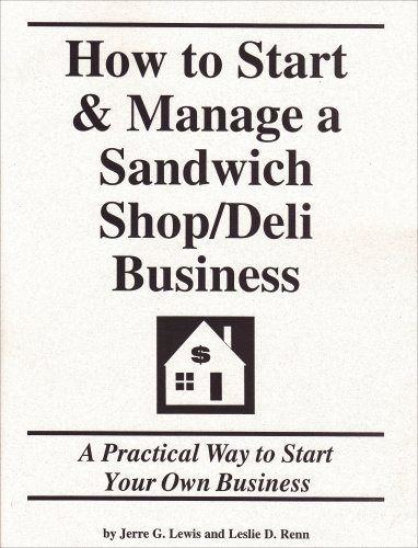 9781579162290: How to Start & Manage a Sandwich Shop/Deli Business