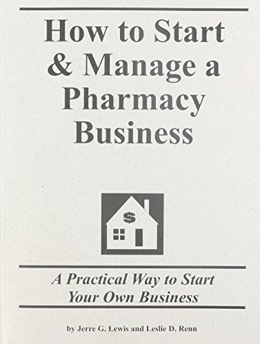 9781579163037: how to start a pharmacy business