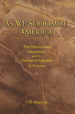 9781579212780: As We Sodomize America
