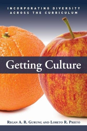 9781579222802: Getting Culture: Incorporating Diversity Across the Curriculum