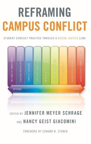 9781579224097: Reframing Campus Conflict: Student Conduct Practice Through a Social Justice Lens
