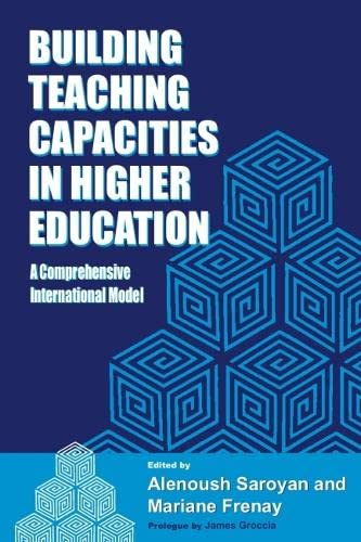 9781579224103: Building Teaching Capacities in Higher Education: A Comprehensive International Model