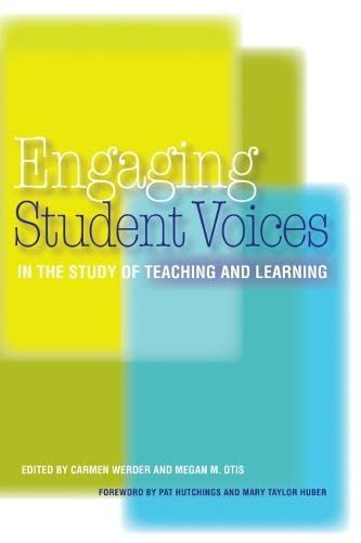 9781579224196: Engaging Student Voices in the Study of Teaching and Learning