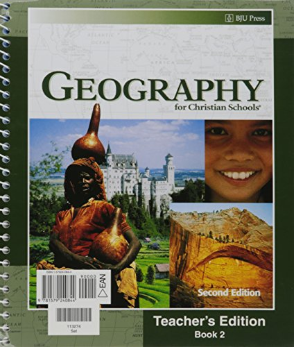 9781579240844: Geography for Christian Schools - Teacher's Edition (Books 1 and 2)