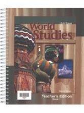 9781579242350: World Studies For Christian Schools: Books 1&2 (Teacher's Edition)