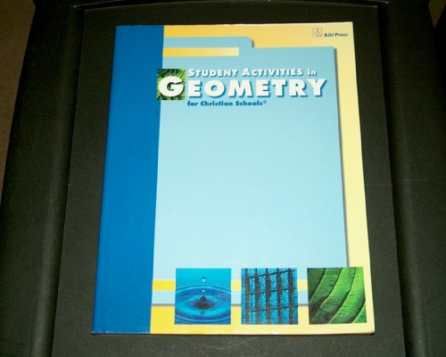 9781579242664: Student Activities in Geometry for Christian Schools