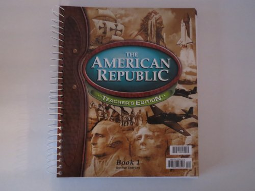 9781579243418: American Republic for Christian Schools (2 volume set)
