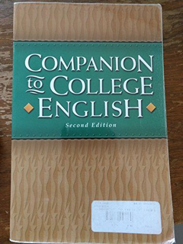 9781579243760: Companion to College English