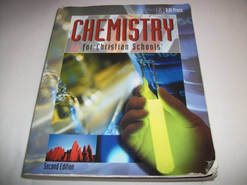 Chemistry for Christian Schools: Cox, Heather; Porch,
