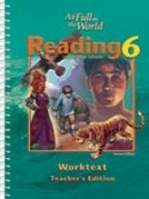 9781579245443: Reading Worktext Teacher Grd 6 2nd Edition