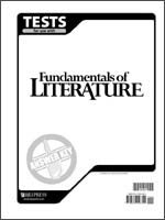 9781579246341: Fundamentals of Literature Answer Key to Tests (Grade 9)