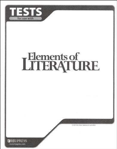 9781579246372: Elements of Literature Tests