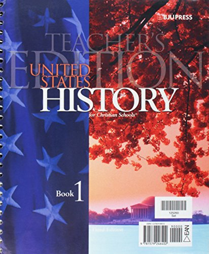 9781579246402: United States History for Christian Schools