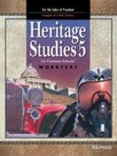 Heritage Studies 5 Student Worktext: Bob Jones University
