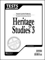 9781579246747: Heritage Studies Tests Answer Key Grd 3 2nd Edition
