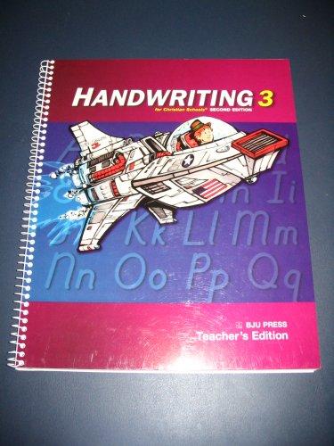 Handwriting 3 Teacher's Edition: Charlene Killian