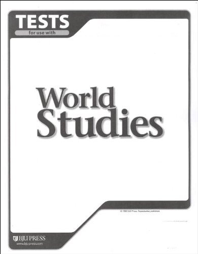 9781579247539: Student Tests (World Studies for Christian School)