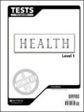 9781579247850: Health Tests, Level 1: Answer Key, Grades 7-9