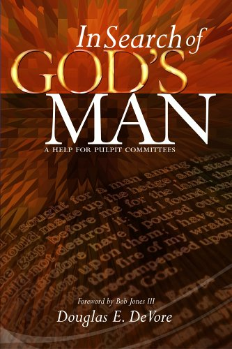 9781579247973: In Search of God's Man: a Help for Pulpit Committees
