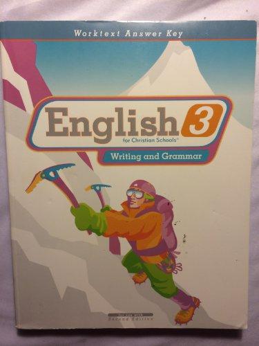 9781579248284: English 3 Worktext Answer Key 2nd Edition